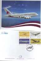 2003 QATAR 100th Anniversary Of Aviation   Postcard - Qatar
