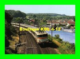 RU CA 29 - Train - Loco BB 16049 Le Long Du Canal à JANVILLE - Oise - SNCF - Trains