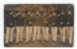 Originele Oude Foto Van Belgische Soldaten - Barracks
