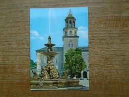Autriche , Salzburg , Residenzbrunnen Und Glockenspied - Salzburg Stadt