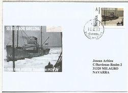 SS ELLEANOR BOLLING  BYRD SHIP ANTARCTIC EXPEDITION 1928-30 SOUTH POLE  TU SELLO ON COVER - Non Classificati
