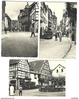 Joli Lot De 9 Photos De 1960 D'Alsace - Wissembourg, Riquewihr, Colmar - Orte