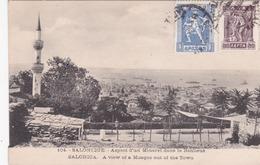 CPA Grèce - Salonique / Salonica - Aspect D'un Minaret Dans La Banlieue - A View Of A Mosque Out Of The Town - 1926 - Griechenland