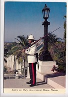 Sentry On Duty, Government House, Nassau, Bahama Islands, Used Postcard [23434] - Bahamas