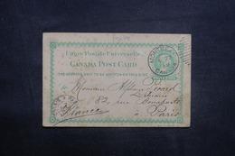 CANADA - Entier Postal Commercial De Montréal Pour Paris En 1891 - L 41498 - Briefe U. Dokumente