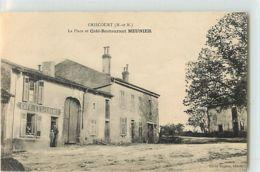 11102 - GRISCOURT - LA PLACE ET CAFE RESTAURANT MEUNIER - Unclassified
