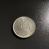FRANCIA - FRANCE  Moneta 1 Franco  1967  Seminatrice - France