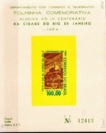 Postal History: Brazil Mint Commemorative Card / Folhinha Comemorativa - Other