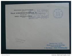 Flamme Port Payé Expo Jumelage Asnières Spandau - Marcophilie (Lettres)