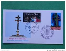 Carte Maximum Croix De Lorraine - De Gaulle (General)