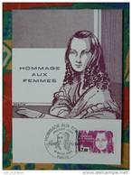 Carte Maximum Maxi Card Flora Tristan Femme Woman Condition - Célébrités