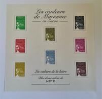 BLOC FEUIILET N° 67 ANNEE 2004 LES COULEURS DE MARIANNE NEUF EXCELLENT ETAT Exemplaire 3 - Bloc De Notas & Hojas