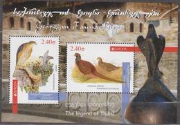Georgia 2019 Mi# Bl  Europe CEPT Fauna Birds * * NEW !!! - 2019