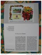 Notice Philatélique Salon Du Timbre 1994 Dalhia - Briefmarkenausstellungen
