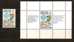 Antilles Néerlandaises Antillen 1983 Yvertn° 680 Et Bloc 24*** MNH Cote 5,00  € - Antilles