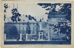 73  Chambery La Rue  Cl Martin Et La Rue De Boigne - Chambery