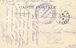 Themes Div-ref DD119-cachets -guerre 1914-18-cachet Hopital Du Sacré Coeur - Corps D Armée - Poitiers - Vienne - - Guerra Del 1914-18