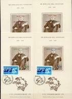 Postal History: Brazil 4 Different Commemorative Cards - U.P.U.