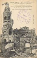 Themes Div-ref DD118-cachets -guerre 1914-18-cachet Service Postal -286eme Territorial - -carte D Albert - Somme - - Marcophilie (Lettres)