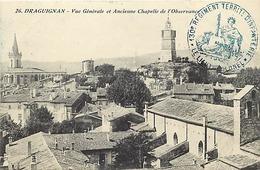 Themes Div-ref DD116-cachets -guerre 1914-18-cachet 130eme Regiment Territorial D Infanterie -carte De Draguignan -var - - Marcophilie (Lettres)