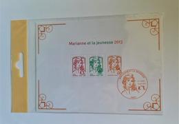 BLOC FEUIILET 133 ANNEE 2013 MARIANNE  ET LA JEUNESSE NEUF EXCELLENT ETAT BLISTER NON OUVERT - Bloc De Notas & Hojas