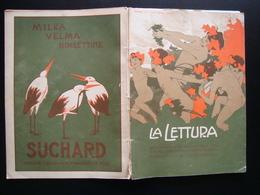 La Lettura Rivista Corriere 1909 Le Gare Poetiche In Sardegna Manca - Libri, Riviste, Fumetti