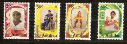 Antilles Néerlandaises Antillen 1981 Yvertn° 628-631 *** MNH Cote 4,50  € - Antilles