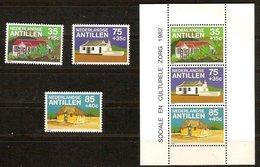 Antilles Néerlandaises Antillen 1983 Yvertn° 671-673 Et Bloc 23 *** MNH Cote 12,50  € - Antilles
