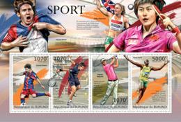 BURUNDI 2012 - Sport M/S. Official Issues. - Burundi