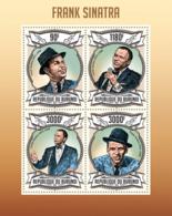 BURUNDI 2013 - Frank Sinatra M/S. Official Issues. - Burundi