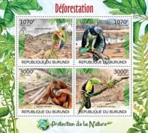 BURUNDI 2012 - Deforestation M/S. Official Issues. - Burundi