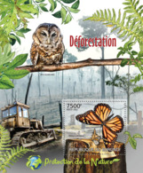 BURUNDI 2012 - Deforestation S/S. Official Issues. - Burundi