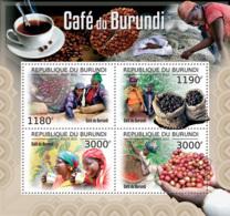 BURUNDI 2012 - Coffee Of Burundi M/S. Official Issues. - Burundi