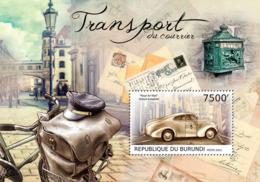 BURUNDI 2012 - Postal Transport S/S. Official Issues. - Burundi
