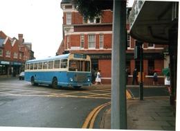35mm ORIGINAL PHOTO BUS UK MELTON BUS N°42 SUFFOLK - F185 - Photographs