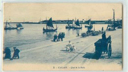 18122 - CALAIS - QUAI DE LA HALLE - Calais