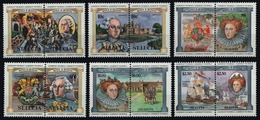 St. Lucia 1984-Mi. No. 632-643 ** - MNH-English Monarchs 12 Stamps - Royalties, Royals