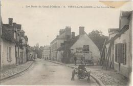 D45 - VITRY AUX LOGES-LA GRANDE RUE-LES BORDS DU CANAL D'ORLEANS-Tricycle Motorisé-Travaux Sur La Gauche-PRECURSEUR - Otros Municipios
