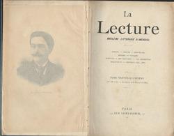 La Lecture Magazine Littéraire  De  1895.n: 34 - Bücher, Zeitschriften, Comics