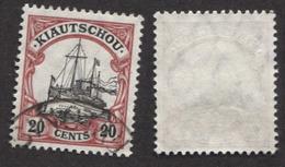 Allemagne, Colonie Allemande, Kiao-Tchéou, Kiantschou, N°28 Oblitéré, Qualité Très Beau - Colony: Kiauchau