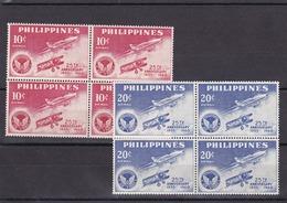 Filipinas Nº A59 Al A60 En Bloque De Cuatro - Filipinas