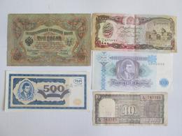 Lot 5 Collector Banknotes,see Pictures - Munten & Bankbiljetten