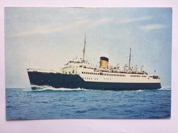 S.S. Falaise - British Rail Vessel - Arthur Dixon UK Postcard 1967 With `Biennale Franco-Britannique Dieppe` Postmark - Ferries
