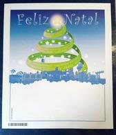 Brazil 076 AEROGRAMA NATAL 2009 BRASILIA CURITIBA RIO JANEIRO Christmas - Interi Postali
