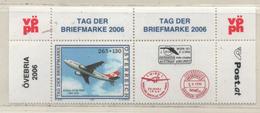 Österreich 2006 MiNr.: 2606** Tag Der Briefmarke Zierfeld, Ränder; Postfrisch; Austria Tab, Margins MNH - 1945-.... 2nd Republic