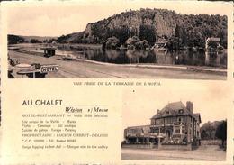 Wépion S/ Meuse - Au Chalet - Hôtel Restaurant (animée, Oldtimer) - Profondeville