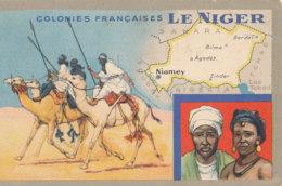 AN 641  /  C P A - COLONIES FRANCAISES  LE NIGER - Niger