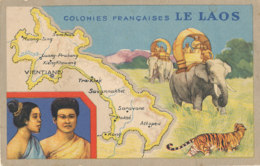 AN 647 /  C P A - COLONIES FRANCAISES     LE LAOS - Laos