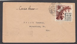 LETTER FROM MEXICO TO THE FRICK COMPANY IN WAYNESBORO,U.S.A.. - Mexico