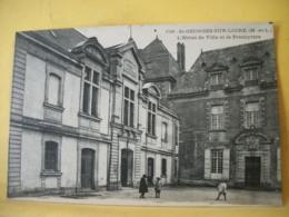 49 5456 CPA - 49 ST GEORGES SUR LOIRE. L'HOTEL DE VILLE ET LE PRESBYTERE. EDIT. VASSELLIER. N° 1716 - ANIMATION - Saint Georges Sur Loire